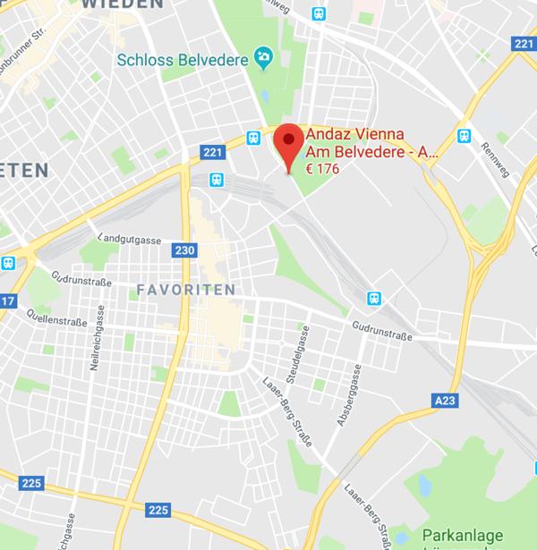 google maps hotel andaz
