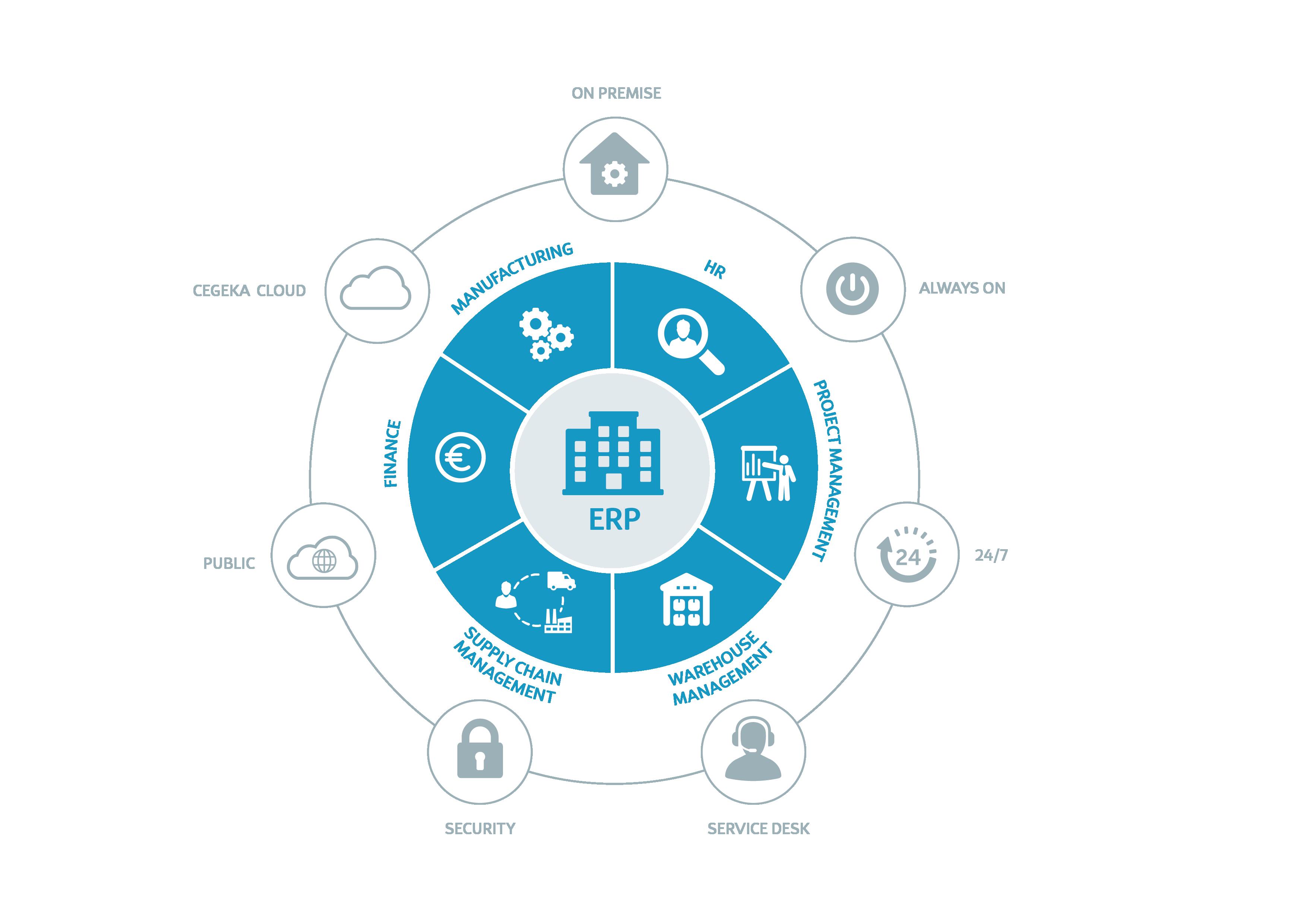 ERP solutions offering | Cegeka