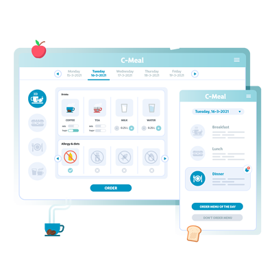 C-Meal: Patient webapp