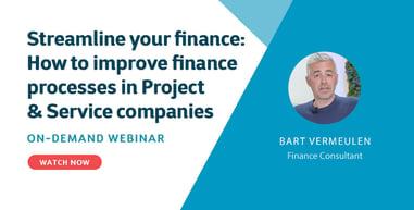 Streamline your finance