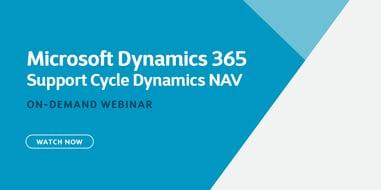 Microsoft Support Cycle Dynamics NAV