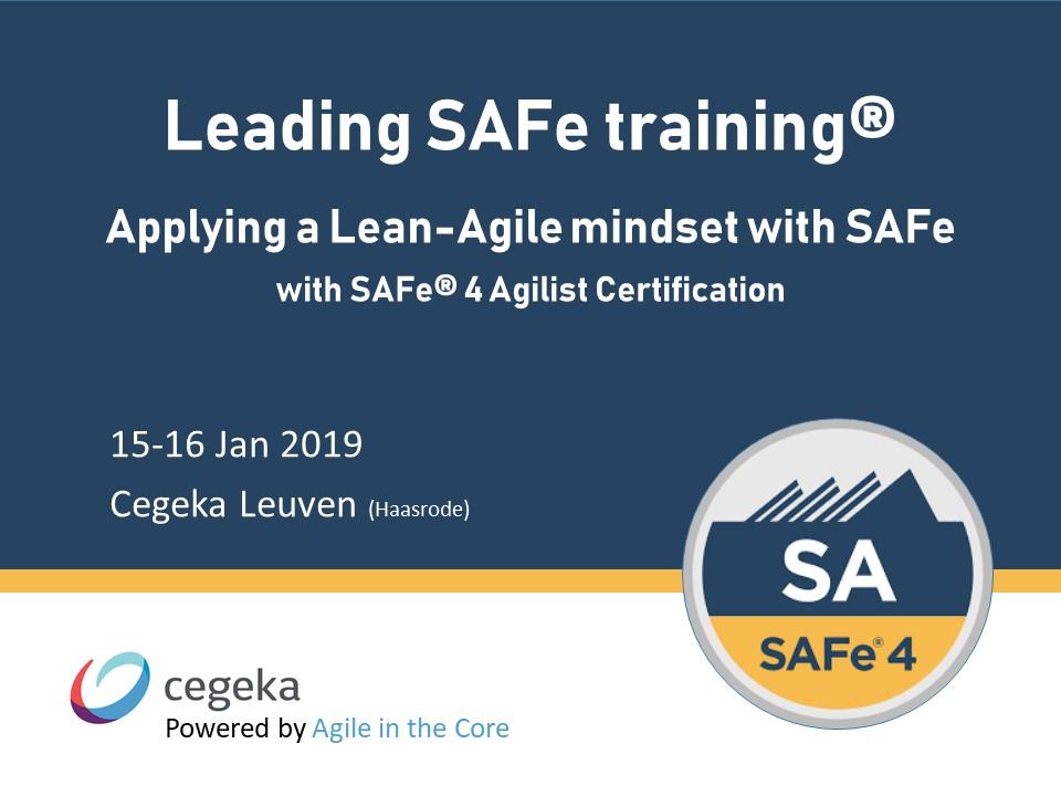 SAFe Training visual