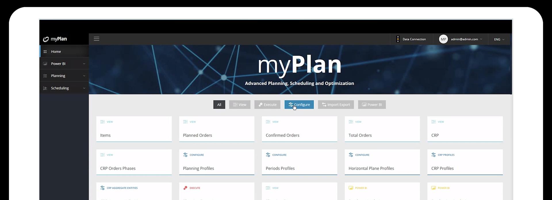 Cegeka myPlan il Software per la Pianificazione, Schedulazione ed Ottimizzazione