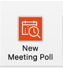 new meeting poll