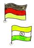 Teammitglieder in unterschiedlichen Ländern feiern zeitgleich ein Teamevent