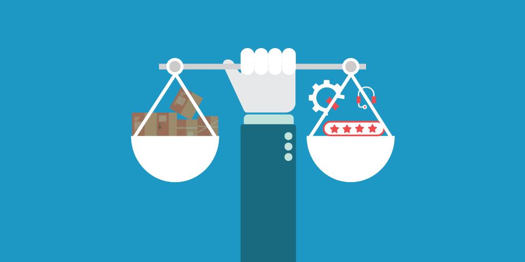 De precaire balans tussen stock en service