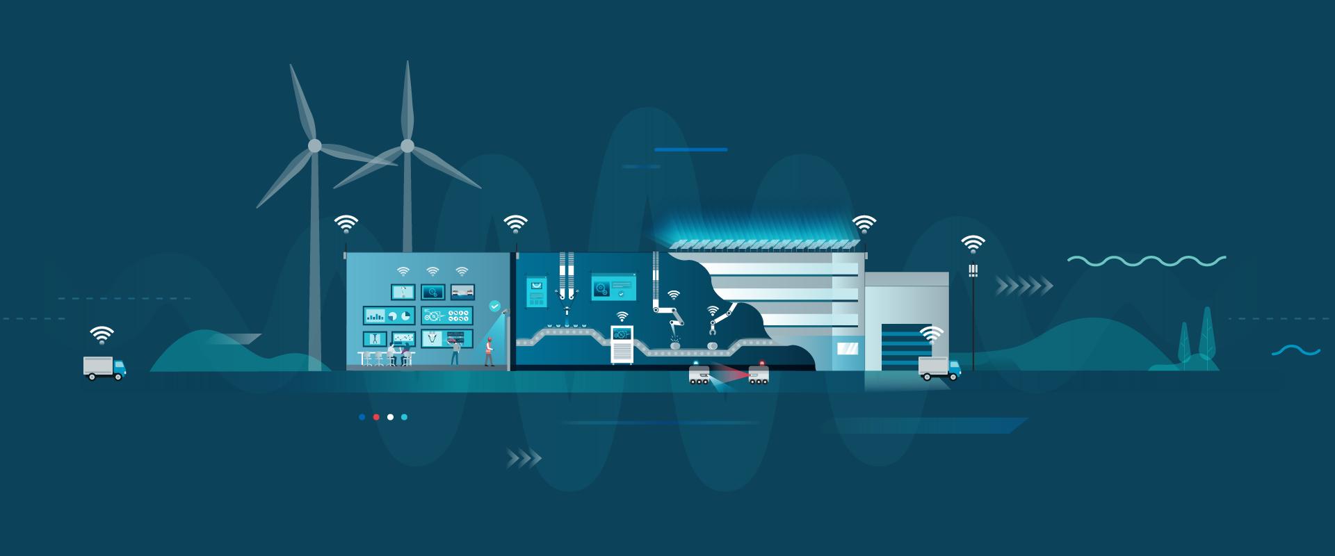 5G zal zorgen voor een transformatie in smart industry en IoT