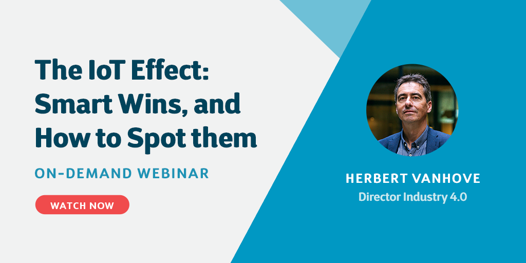 Webinar - Benefits and barriers for IoT success