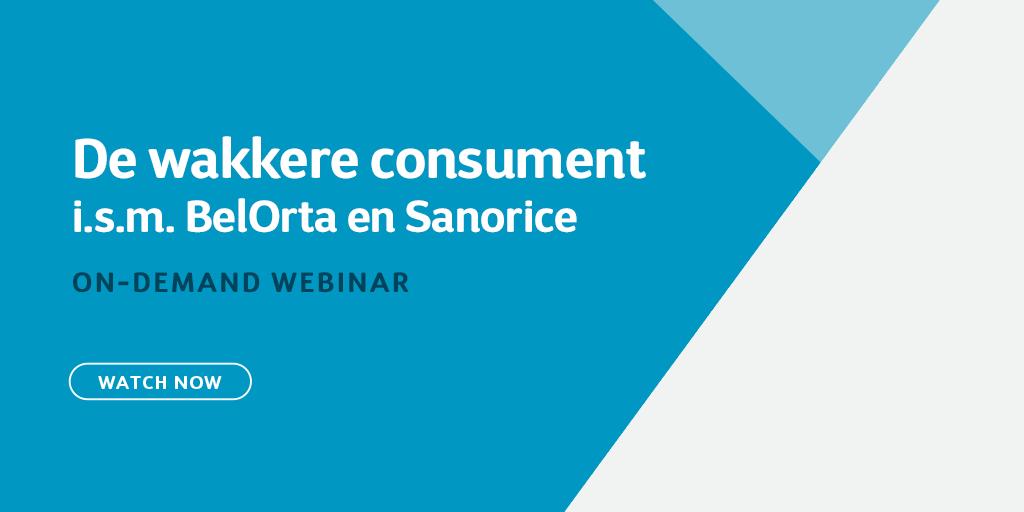 De wakkere consument: i.s.m. BelOrta en Sanorice
