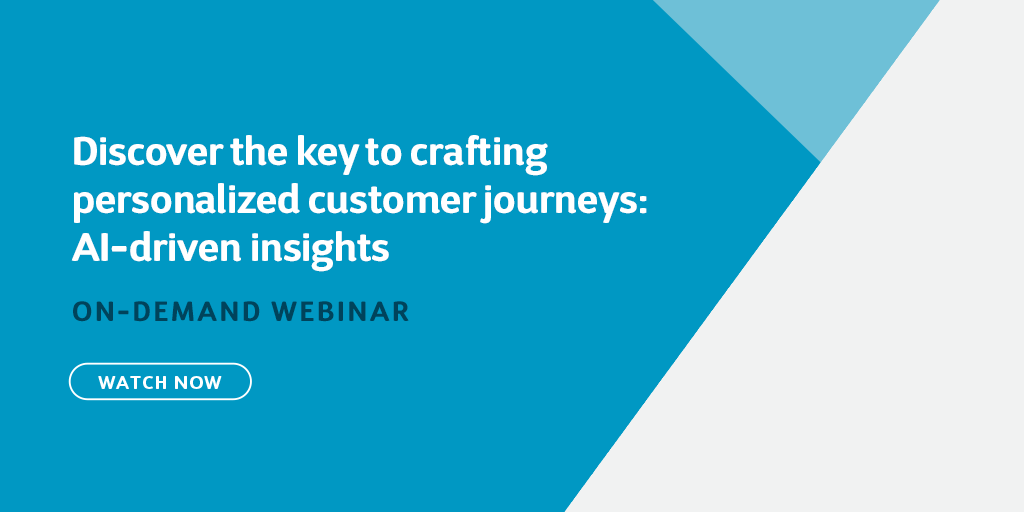 Discover the key to crafting personalized customer journeys: AI-driven insights