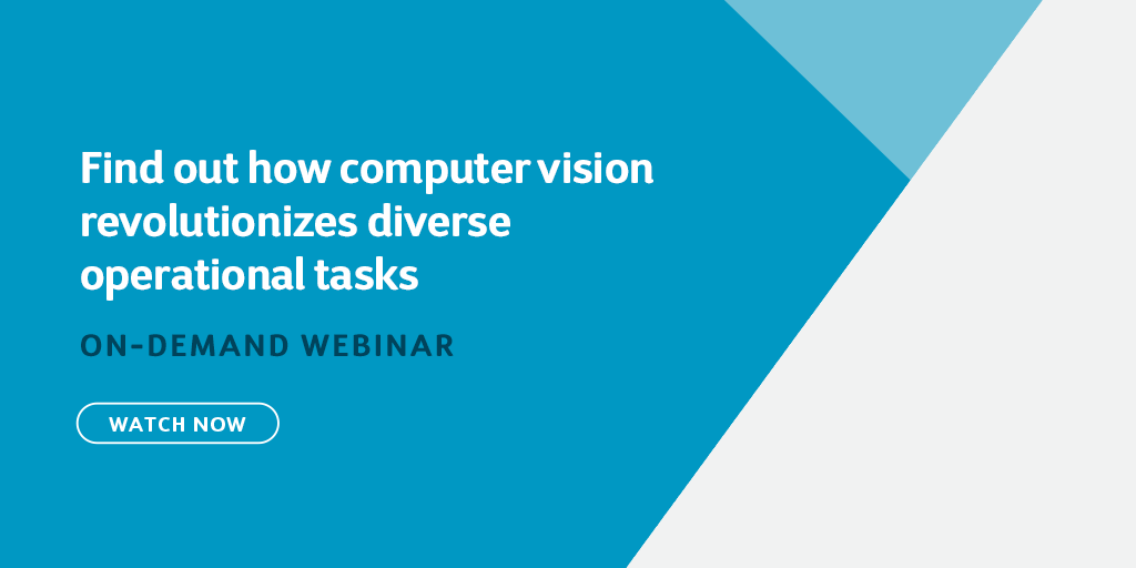 Find out how computer vision revolutionizes diverse operational tasks