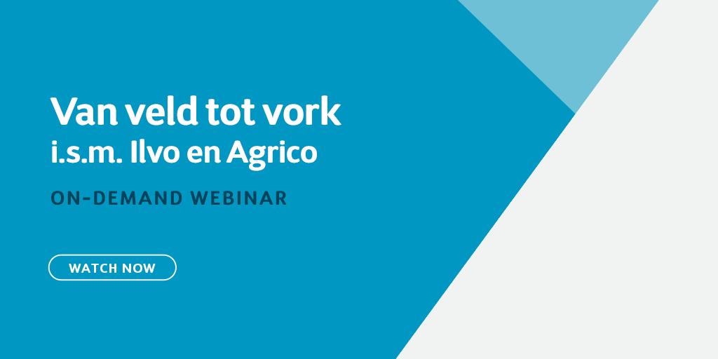 Van veld tot vork: i.s.m. Ilvo en Agrico