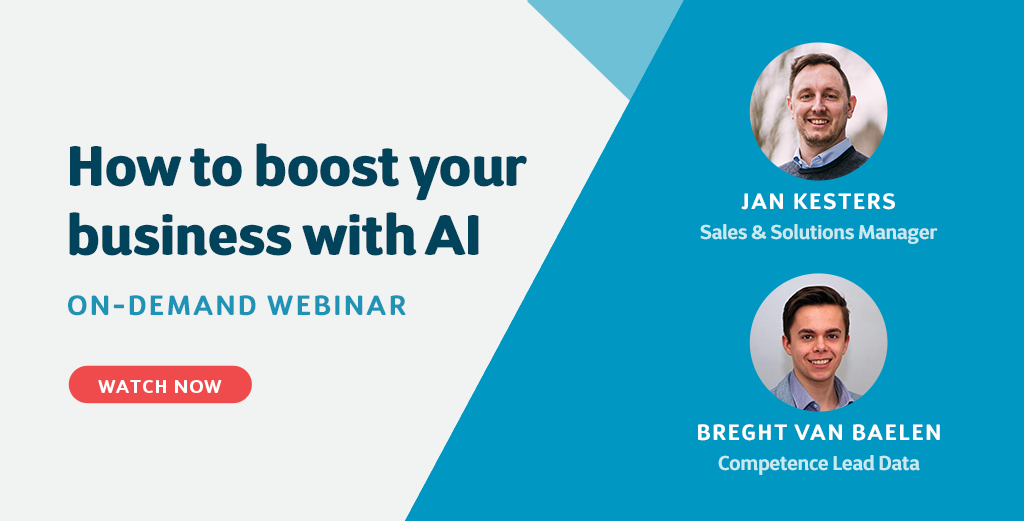 Webinar - How to boost your business with AI