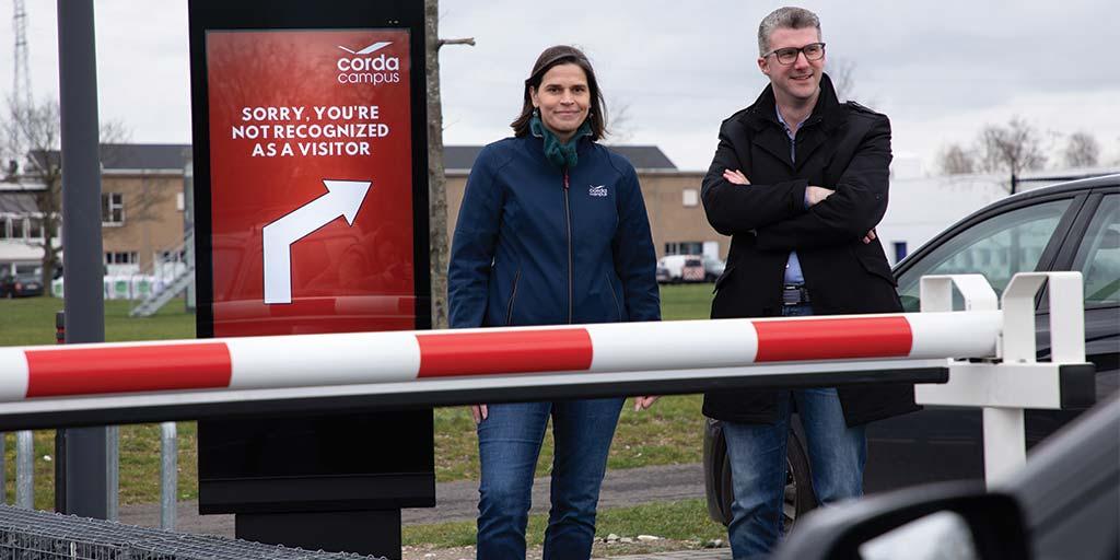 Cegeka en Corda Campus creëren slimste parking van België