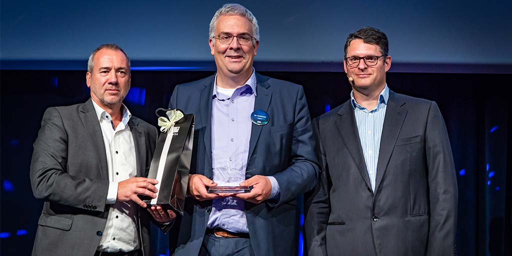 Cegeka receives IBM Outstanding Security Solution Award 2017
