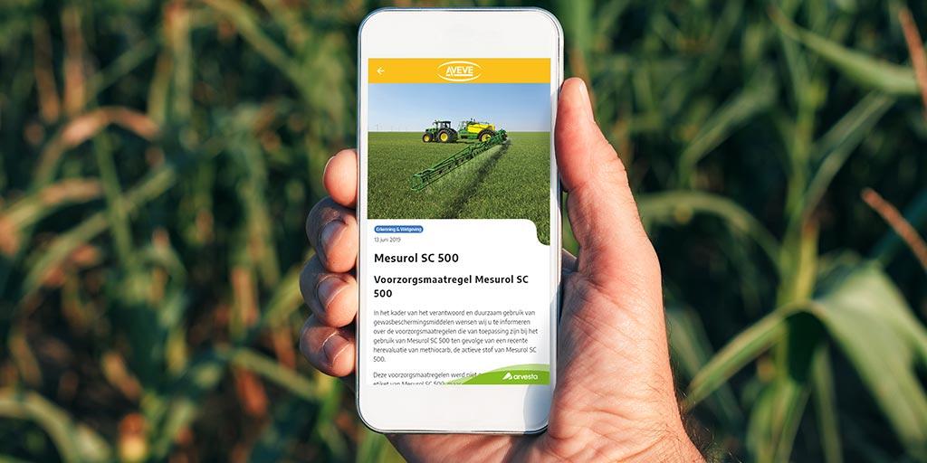 Arvesta maakt boer en tuinder slimmer met nieuwe app