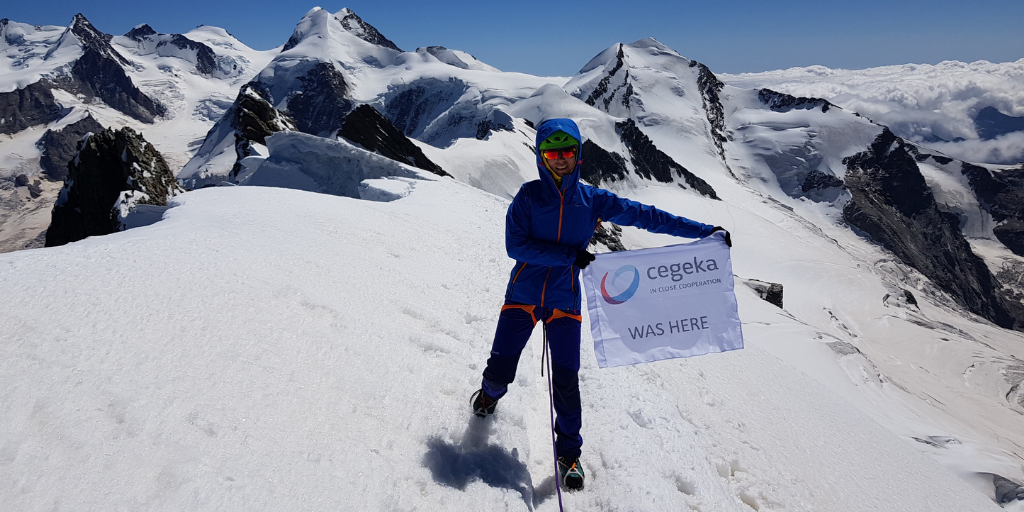 Constantly aspiring to more: Peaks of the Alps with Loredana Sucu