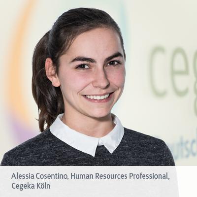 Alessia Cosentino über ihre Arbeit als Human Resources Professional bei Cegeka Köln