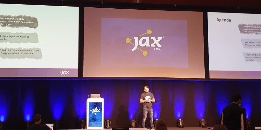 Christian Schneiker, Cegeka Deutschland, auf der JAX 2020