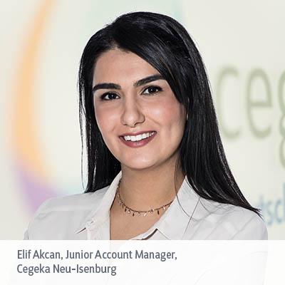 Elif Akcan im Interview: Warum ich gerne bei Cegeka arbeite