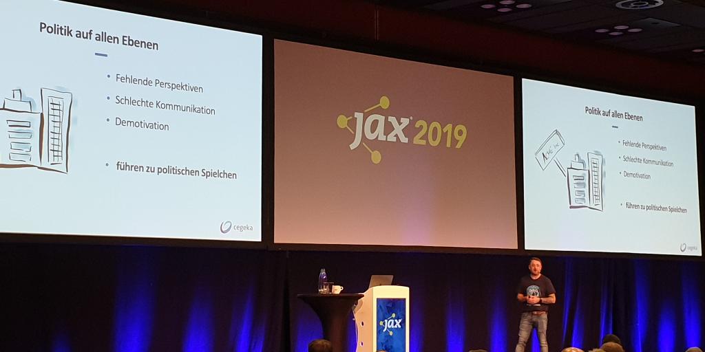 Die Organisation schlägt zurück: Vortrag von Christian Schneiker auf der JAX 2019