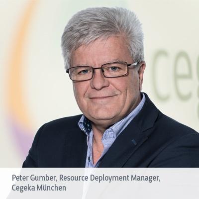 Peter Gumber, Resource Deployment Manager, Cegeka München, im Interview