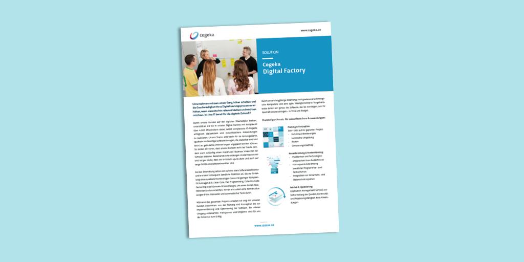 Solutionsheet:<br>Digital Factory (PDF)