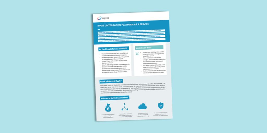 Solutionsheet:<br>iPaaS (PDF)
