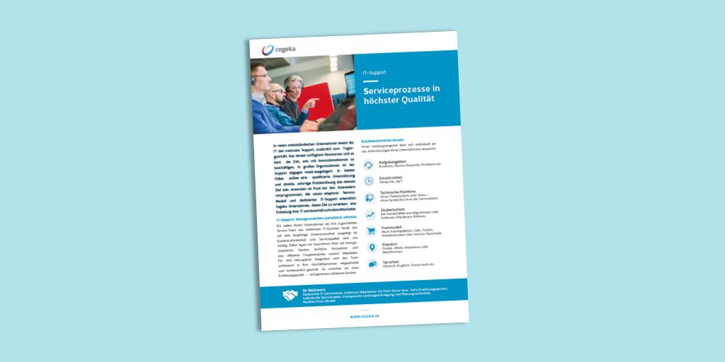 Solutionsheet:<br>IT-Support (PDF)