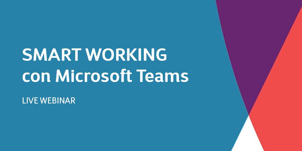 Smart working con Microsoft Teams