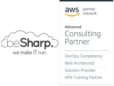 LogoAWSTrainingPartner+beSharp