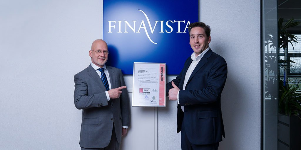 Quality of Finavista software awarded with 4 stars by SIG