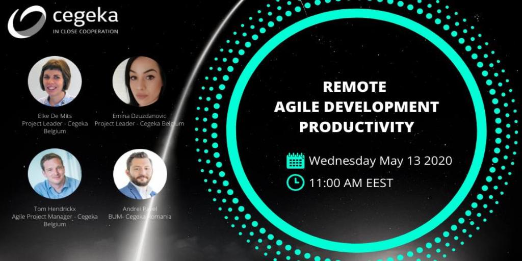 Cegeka Webinar- Remote Agile Development Productivity