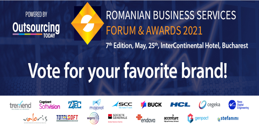 Cegeka Romania is one of the nominees for the Brand of the year award!