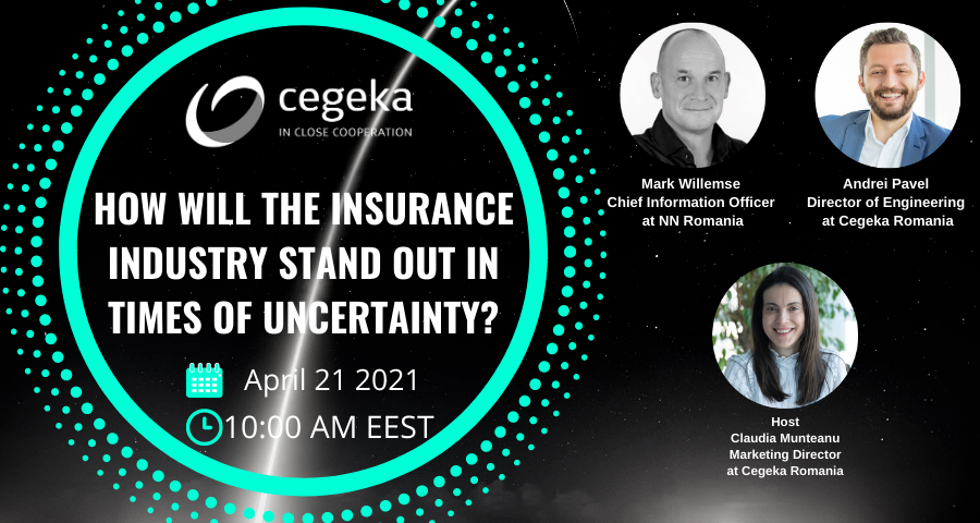 Webinar: How will the insurance industry stand out in times of uncertainty?